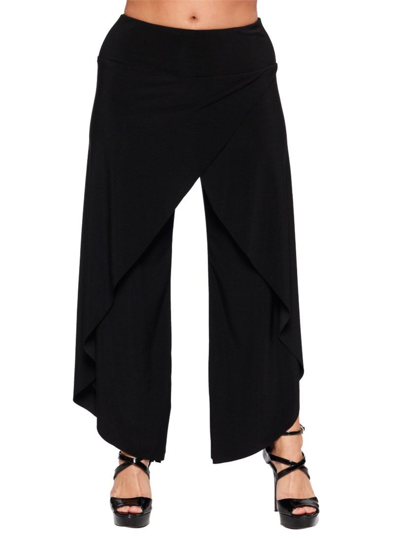 Front Crossover Drape Pant Bottoms - The Post Office by Shannon Passero. Fashion Boutique in Thorold, Ontario