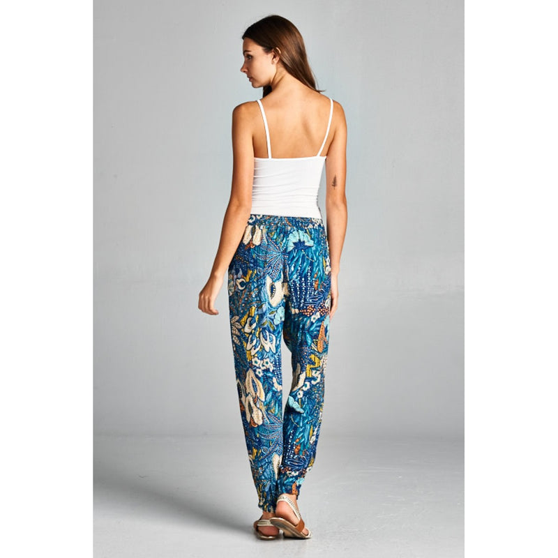 Print Pants Bottoms - The Post Office by Shannon Passero. Fashion Boutique in Thorold, Ontario