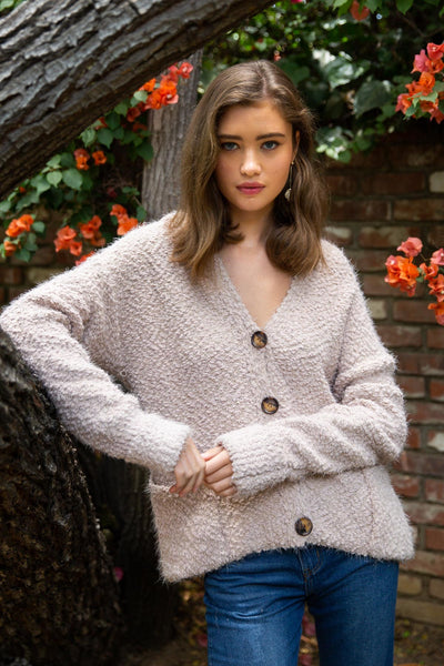 Mohair Buttondown Cardigan