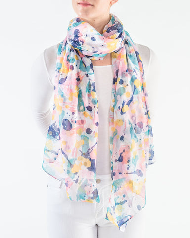 Paint Splatter Scarf