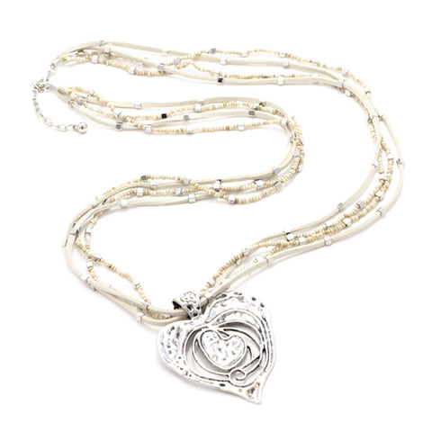 Gaudi Heart Necklace