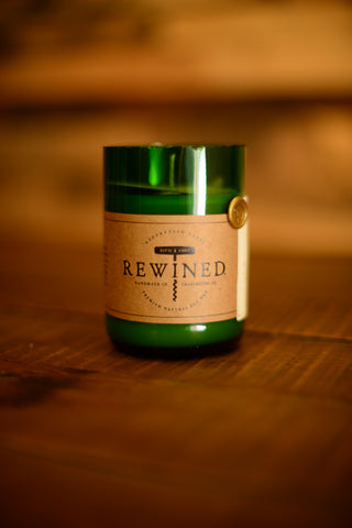 rewined candles wine scented candles