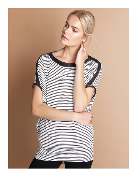Afina Striped Top Shannon Passero Design Canada