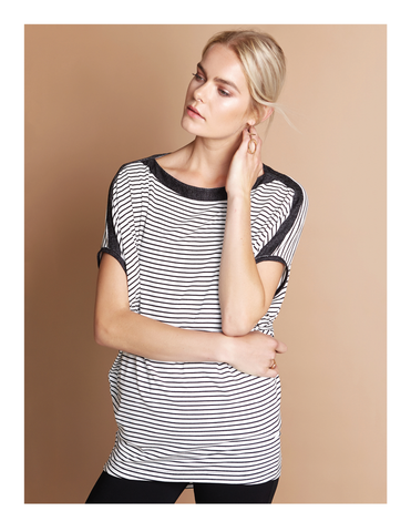 Afina Striped Top Shannon Passero Collection Fall 2018