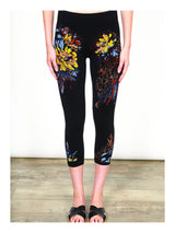 Floral Cropped Legging Bottoms - The Post Office by Shannon Passero. Fashion Boutique in Thorold, Ontario
