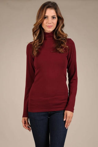 Turtleneck Seamless Top