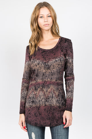 Ethical Tribal Scoop L/S Tunic