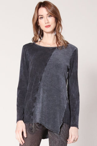 Unbalanced Tunic Sweater