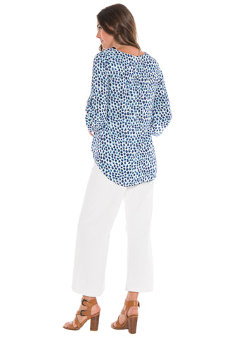 Printed Dot Blouse