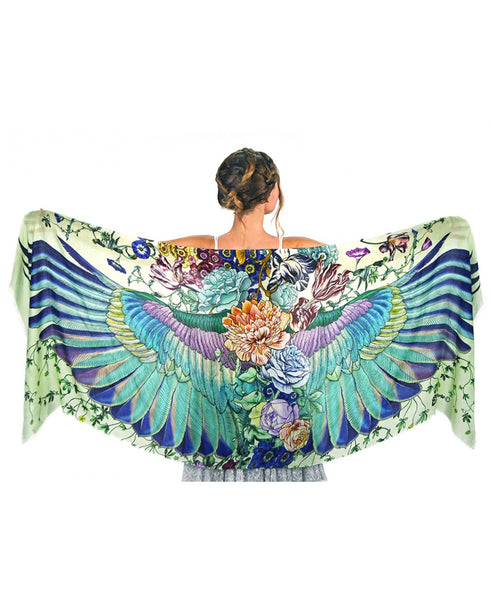 Sublime Wing Scarf Printed Village Canada