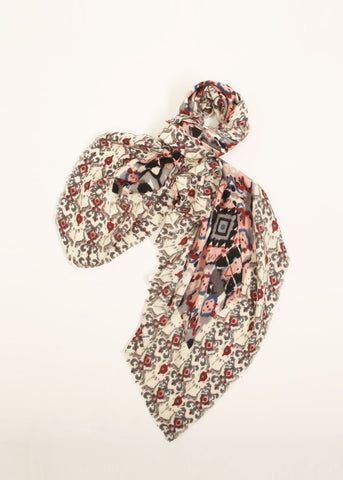Baroque Pattern Scarf