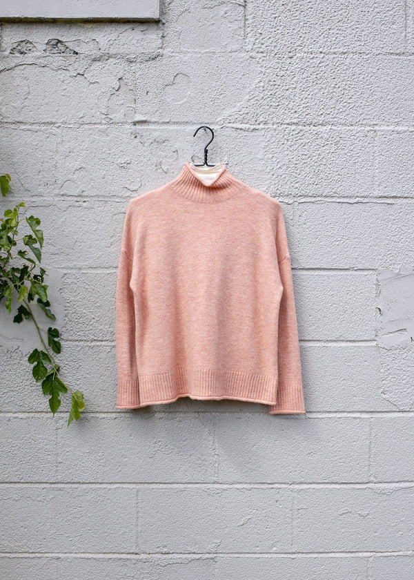 Mock Neck Sweater Tops - The Post Office by Shannon Passero. Fashion Boutique in Thorold, Ontario