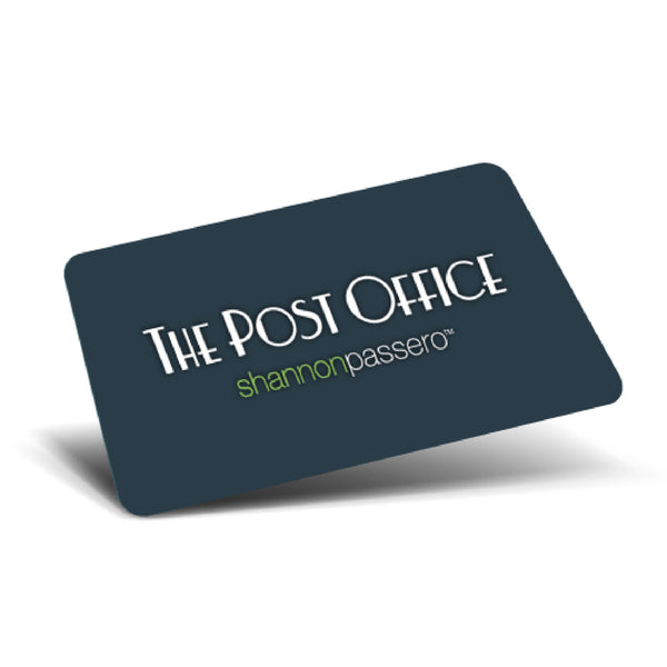 Gift Card $25 Gift Cards - The Post Office by Shannon Passero. Fashion Boutique in Thorold, Ontario