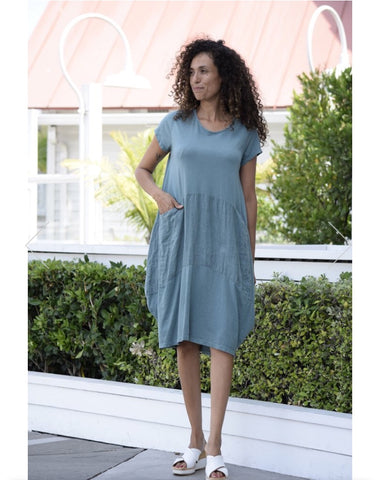 Tee Balloon Pocket Dress
