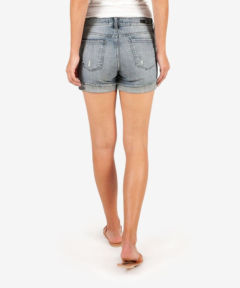 Boyfriend Short Commit Denim - The Post Office by Shannon Passero. Fashion Boutique in Thorold, Ontario