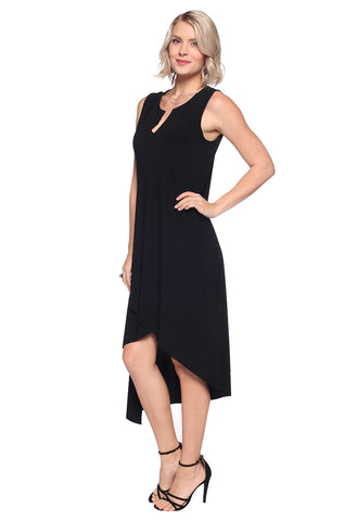 Sleeveless Asymmetrical Dress