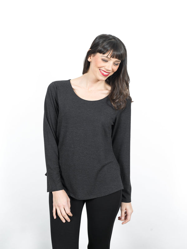 Kallie Long Sleeve Top Tops - The Post Office by Shannon Passero. Fashion Boutique in Thorold, Ontario