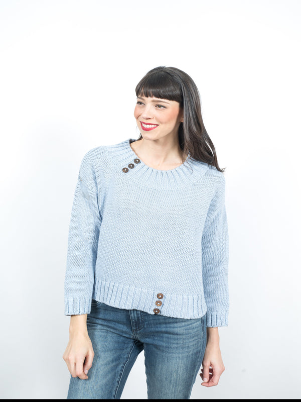 Yerali Pullover Tops - The Post Office by Shannon Passero. Fashion Boutique in Thorold, Ontario