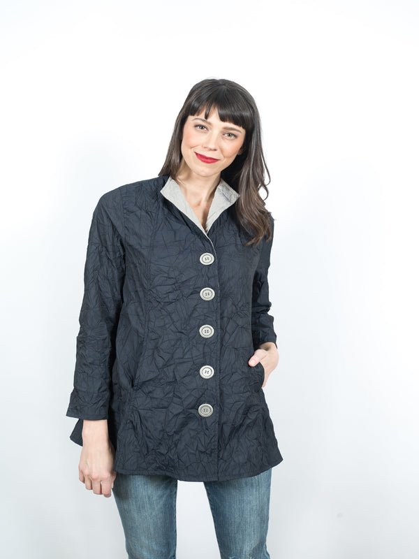 Olinda Jacket Tops - The Post Office by Shannon Passero. Fashion Boutique in Thorold, Ontario