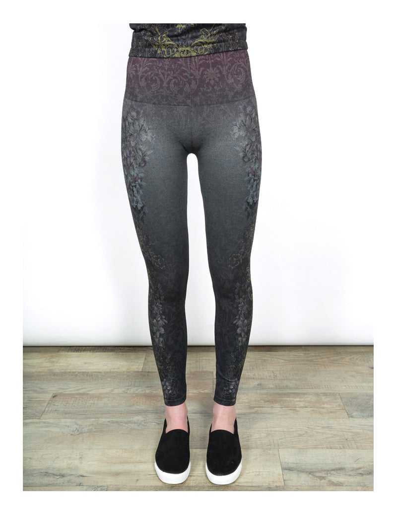 High Waist Leggings Bottoms - The Post Office by Shannon Passero. Fashion Boutique in Thorold, Ontario