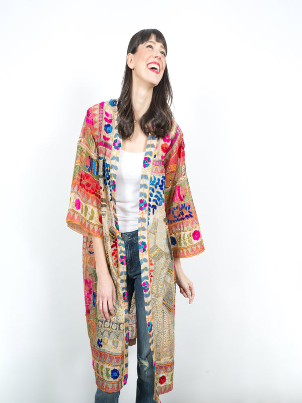 JB Vintage Kimono Coverups - The Post Office by Shannon Passero. Fashion Boutique in Thorold, Ontario