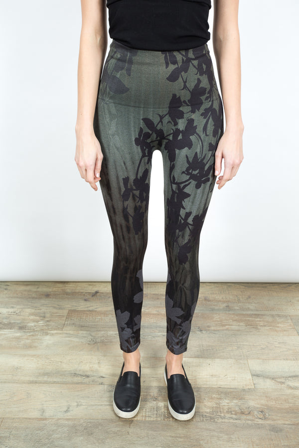 High Waisted Leggings Floral Bottoms - The Post Office by Shannon Passero. Fashion Boutique in Thorold, Ontario