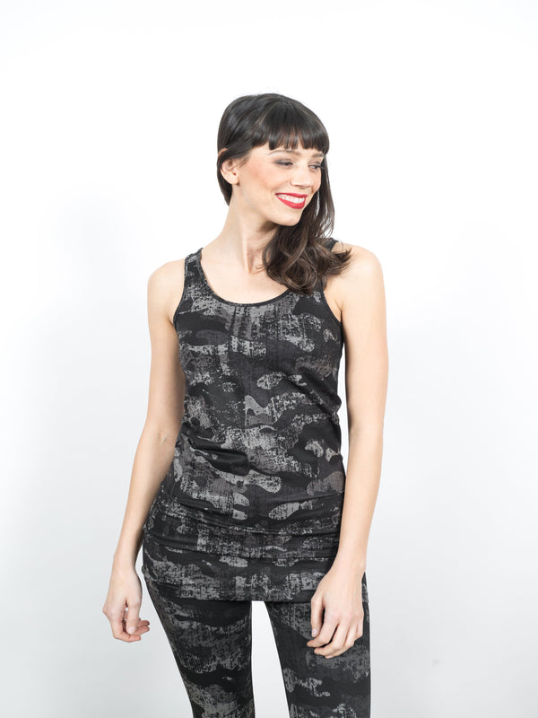 Reversible Tank Dress - Camo Tops - The Post Office by Shannon Passero. Fashion Boutique in Thorold, Ontario
