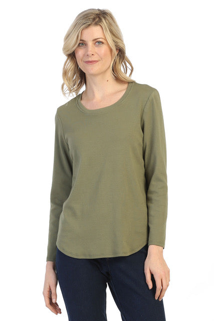 Long Sleeve Top Tops - The Post Office by Shannon Passero. Fashion Boutique in Thorold, Ontario