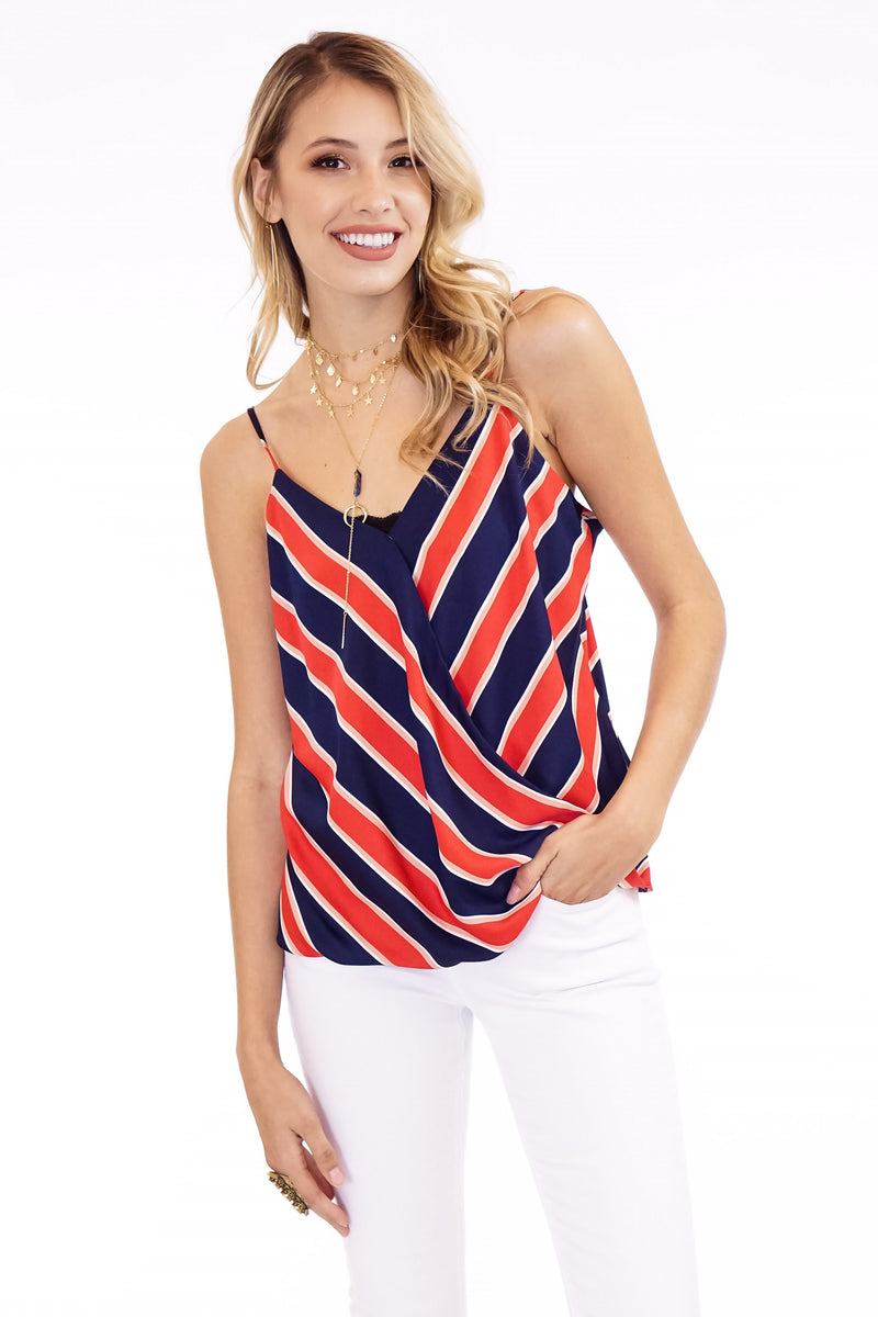 Striped Cami Tops - The Post Office by Shannon Passero. Fashion Boutique in Thorold, Ontario