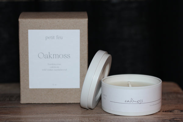 Petit Feu 5oz Tin Consignment Product - The Post Office by Shannon Passero. Fashion Boutique in Thorold, Ontario