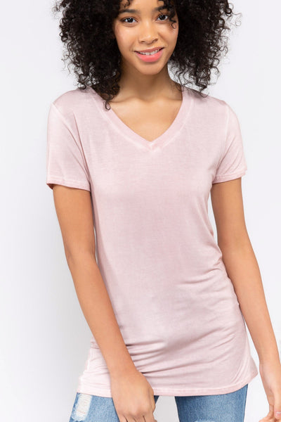 Basic Short Sleeve Tee POL Clothing Canada