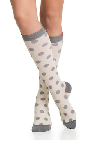 Polka Dots Compression Socks
