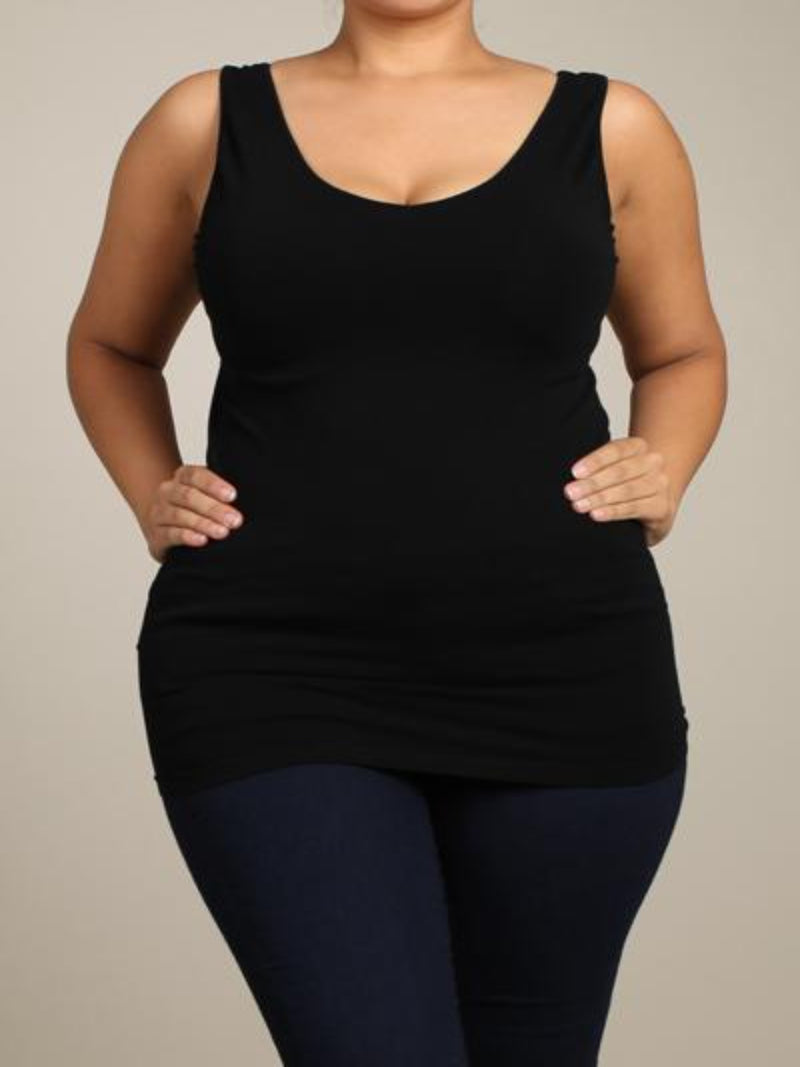 Plus Reversible Tank Plus Size - The Post Office by Shannon Passero. Fashion Boutique in Thorold, Ontario