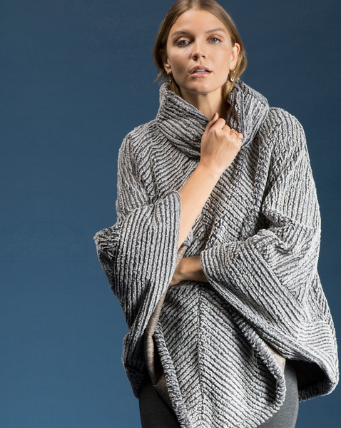 Shannon Passero Collection Faux Fur Poncho