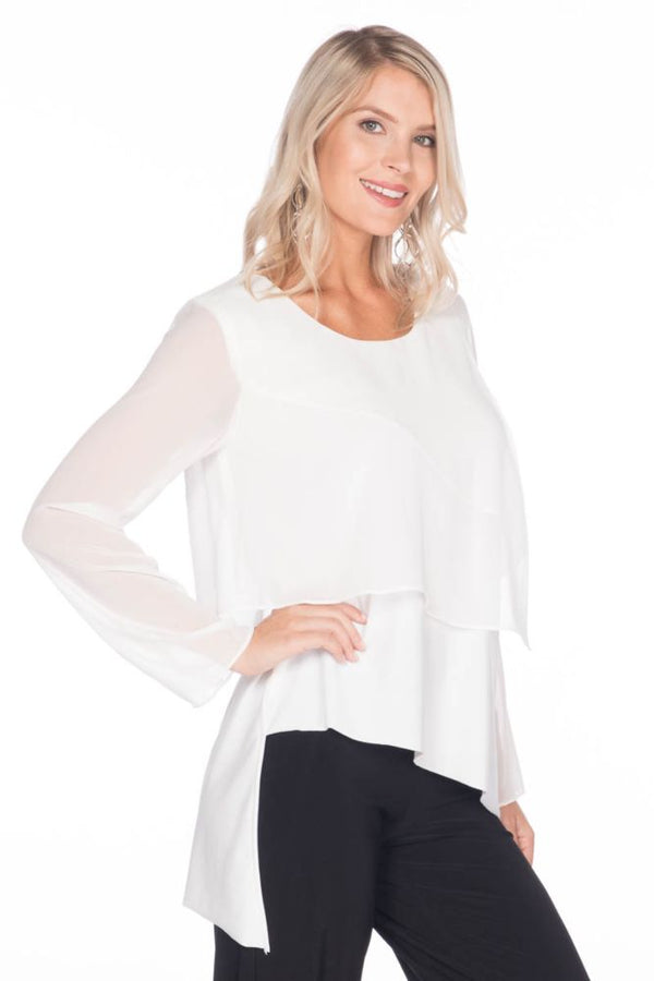 Chiffon Layer Top Tops - The Post Office by Shannon Passero. Fashion Boutique in Thorold, Ontario