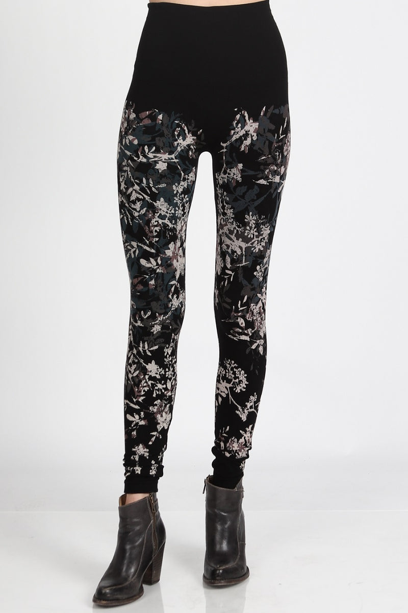Floral Medley Print Legging Bottoms - The Post Office by Shannon Passero. Fashion Boutique in Thorold, Ontario