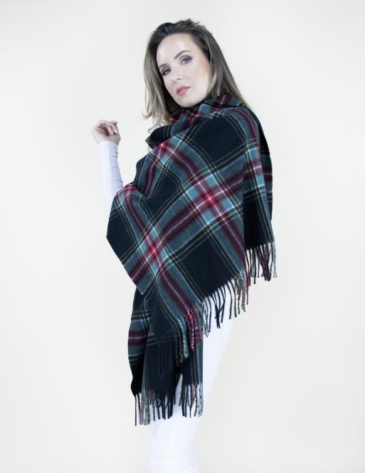 Classic Scotch Plaid Scarf Accessories - The Post Office by Shannon Passero. Fashion Boutique in Thorold, Ontario