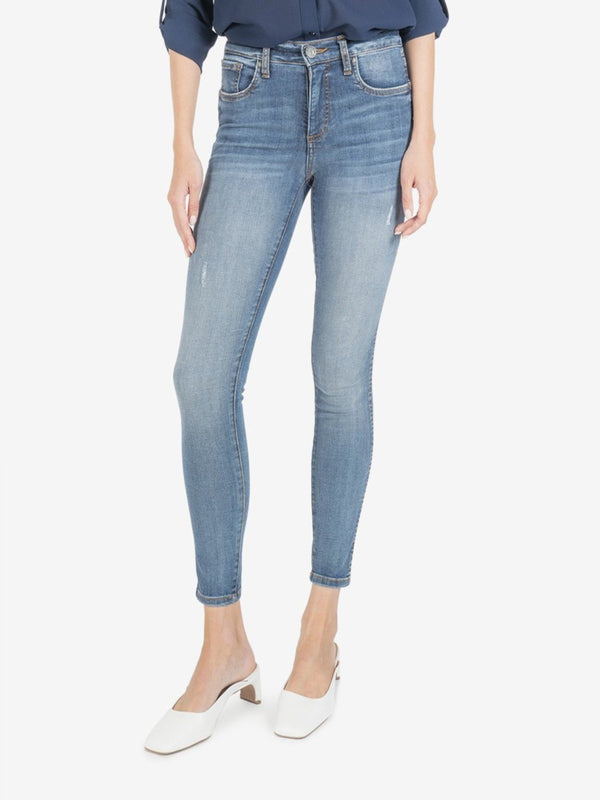 Connie Hi Rise Fab Ab Ankle Denim - The Post Office by Shannon Passero. Fashion Boutique in Thorold, Ontario