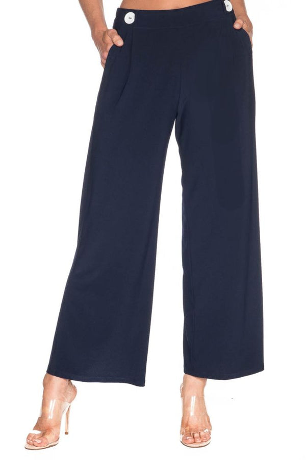 Pinstripe Pant Bottoms - The Post Office by Shannon Passero. Fashion Boutique in Thorold, Ontario