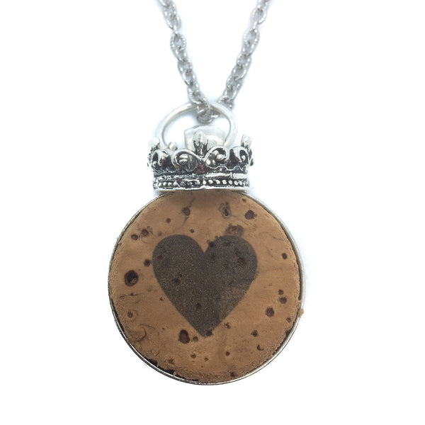 Queen of Hearts Necklace Consignment Product - The Post Office by Shannon Passero. Fashion Boutique in Thorold, Ontario