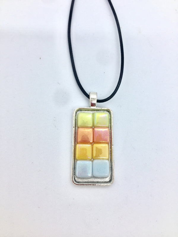 Eight Tile Necklace Consignment Product - The Post Office by Shannon Passero. Fashion Boutique in Thorold, Ontario