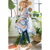 Bohemian Print Kimono Coverups - The Post Office by Shannon Passero. Fashion Boutique in Thorold, Ontario