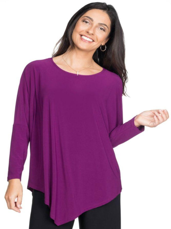 Dolman Sleeve w/ Pointed Hem Tops - The Post Office by Shannon Passero. Fashion Boutique in Thorold, Ontario