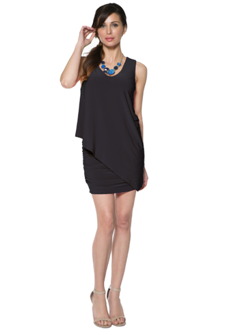 Rouched Tank Tunic