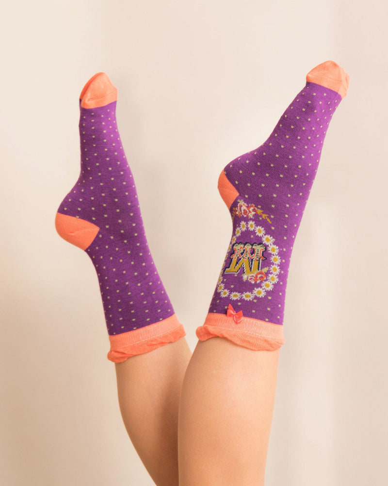 Alphabit Socks Accessories - The Post Office by Shannon Passero. Fashion Boutique in Thorold, Ontario
