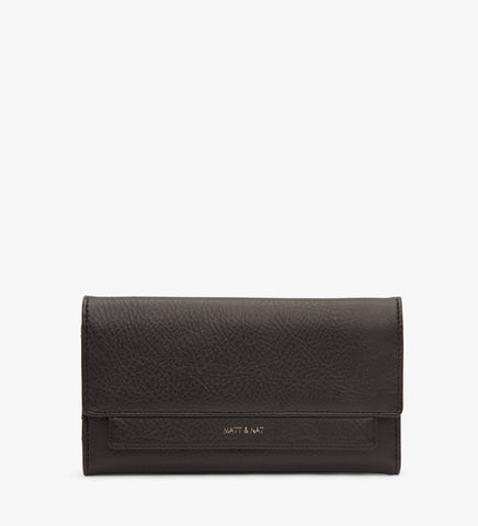Ida Wallet Matt & Nat Black