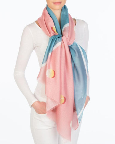 Tennis Court Scarf