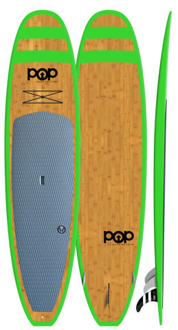 "POP Paddleboards Huckleberry 11'0"" SUP - Green"