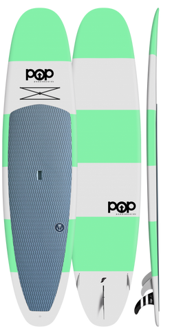 "POP Paddleboards Throwback 11'6"" SUP - Green"