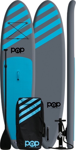 "POP Paddleboards POPUP 11'0"" Inflatable SUP - Blue"